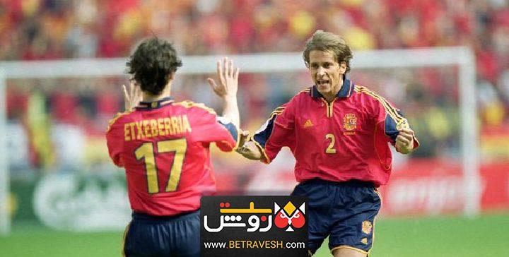 اسپانیا 9-0 اتریش پرگل ترین بازی های فوتبال