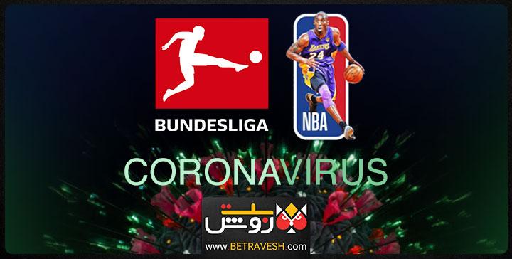 کرونا در تمام رشته های ورزشی از NBA تا بوندسلیگا