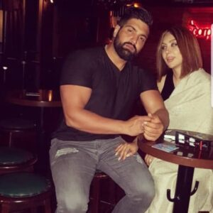 سعید شنی و همسرش